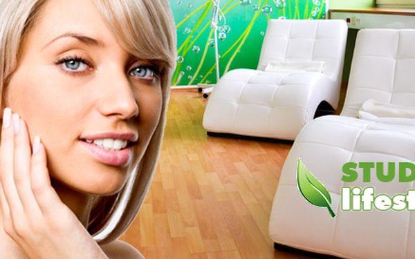 90minutová kosmetická péče přírodní kosmetikou!