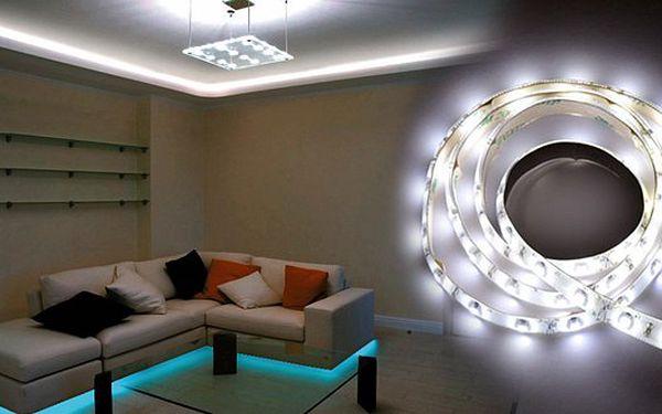 799 Kč za svítící LED pásek o délce 5m. Elegantně podsvícená kuchyň, světlo ve skříni nebo na schodišti, přesně podle vašich potřeb!