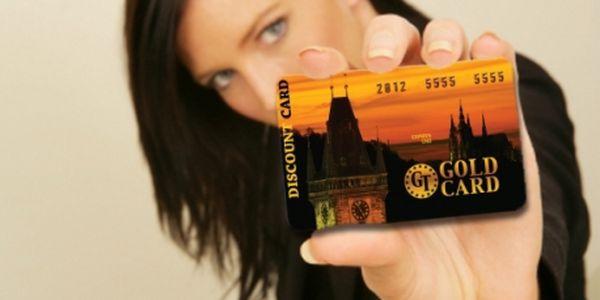 Pro milovníky slev: CELOROČNÍ SLEVY se slevovou kartou GT GOLD CARD! Slevy, zvýhodnění a VSTUPY ZDARMA do nejznámějších a nejžádanějších podniků s GT GOLD CARD!!!1.