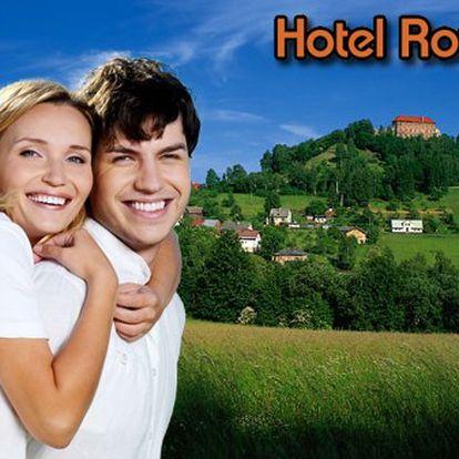 3 dny Hotel Roubal*** s polopenzí pro 2 osoby