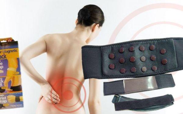 MAGNETICKÉ PÁSKY 3 pack Dr. Levine! Zbaví Vás bolestí! Tyto pásky uvolňují ztuhlé svalstvo a zvyšují pohyblivost kloubu - v sadě po 2 kusech + bederní pás nyní za 259 Kč!