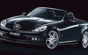 Pronájem luxusního vozu Mercedes Benz SLK Cabrio. Elegance a dravost za 570Kč na 2 hodinovou projížďku s 83% slevou.