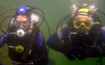 590,- Kč za mini kurz potápění!