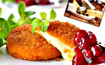 Sýrová bašta pro 2 až 4 osoby! Vychutnejte si smažený sýr, hermelín, tvarůžky a mnoho dalšího!