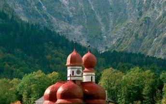 Jednodenní výlet do národního parku Berchtesgaden. Poznejte ORLÍ HNÍZDO a jezero KÖNIGSEE