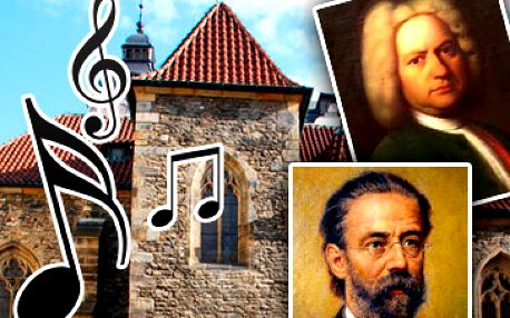 Vstupenky na krásný koncert v kostele sv. Martin ve zdi na Praze 1 za skvělých 290 Kč! To nejlepší z české a světové hudby - Smetana, Dvořák, Pachelbel, Bizet, Vivaldi, Bach, Mozart, Albinoni, Brahms!