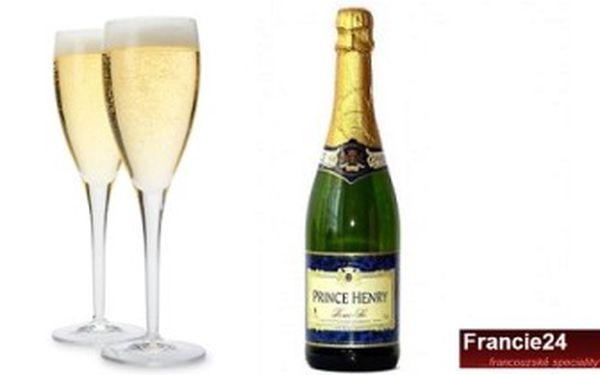 Pouhých 414 kč za 6 výborných francouzských šumivých vín! Láhev vína prince henry demi sec vás tak vyjde jen na 69 kč! Sleva 52%!