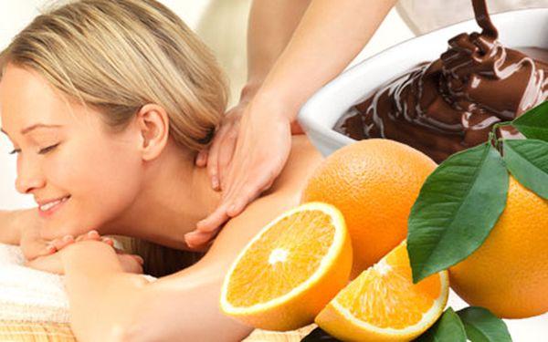 159 Kč za luxusní masáž zad, šíje a ramen čokoládovo-pomerančovým olejem. 40 min. relaxování a dokonalého uvolnění pod rukama profesionální masérky. HyperSleva 58 %.