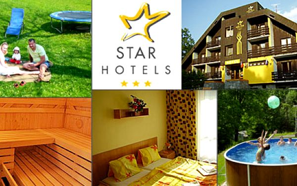 Pobyt s polopenzí na 3 dny pro 2 osoby v hotelu STAR na Benecku za 1690 Kč. Ubytování na 2 noci pro 2 osoby, denně snídaně a večeře, k večeři karafa vína, stolní tenis, venkovní bazén. Platnost do konce října!