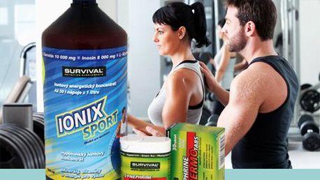 1l iontového nápojového koncentrátu IONIX! Podpořte svůj sportovní výkon díky IONIXU! Výběr z různých příchutí!