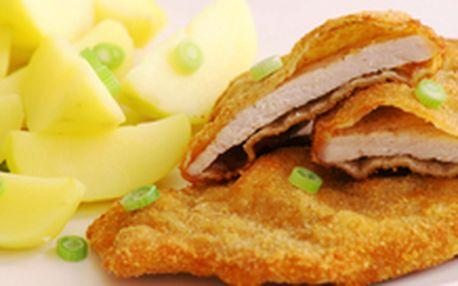 199 Kč místo 830 Kč - Kopa voňavých řízečků! 1 kg delikátních smažených kuřecích a vepřových mini řízečků a 400 g vypečených hranolek, se slevou 76 %. Omáčky a zeleninová obloha v ceně!