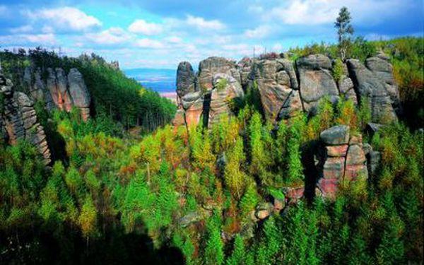3 nebo 6 dní u Adršpašských skal PRO DVA od 1590 Kč! Včetně polopenze!
