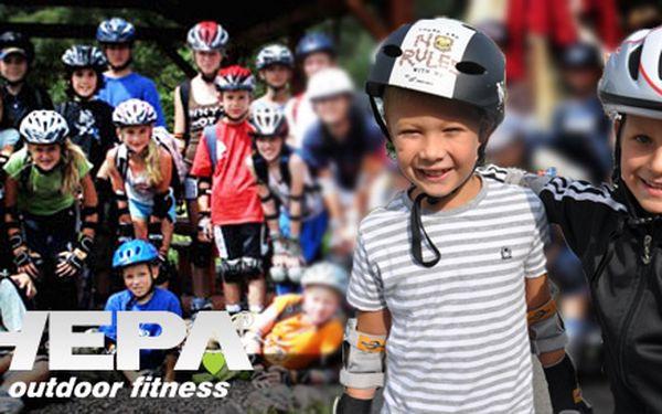 Týdenní in-line příměstský tábor pro děti 5-12 let