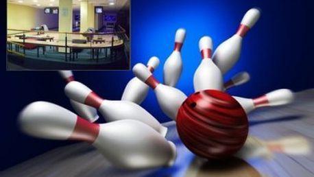 1 hodina bowlingu! Zahrajte si bowling a odreagujte se během 60 minut až v 6 lidech!