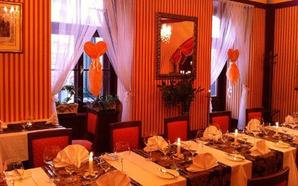 Luxusní tříchodové menu jen za 350 Kč! Restaurace U Patrona na pražské Kampě!