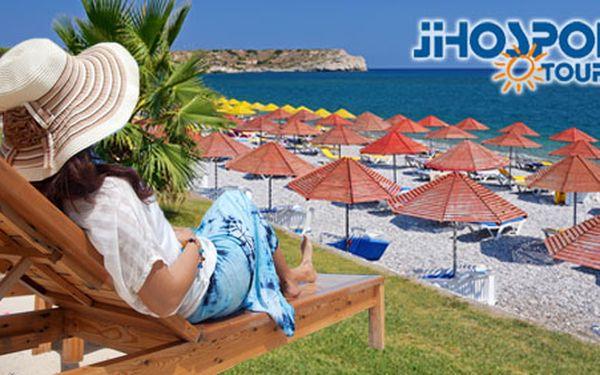 10 970 Kč za 8denní letecký zájezd na Rhodos s all inclusive. Letovisko Kolymbia a dva hotely*** s bazénem na výběr. Termín 24.6. - 1.7. 2012. Sleva 45 %.