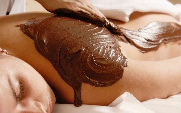 3 druhy masáže - ruční vakuová, čokoládová, medová