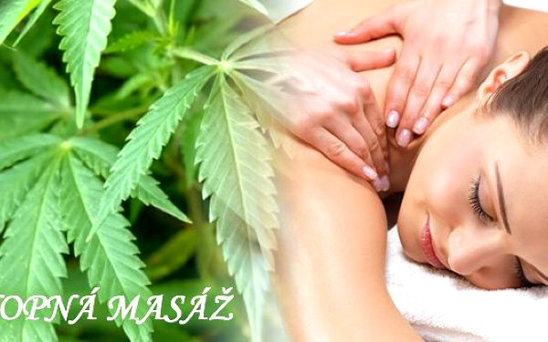 Zregenerujte své tělo úžasnou 45 minutovou konopnou masáží zad a šíje a 15 minutovým konopným zábalem vMasážním studiu Sedmikráska