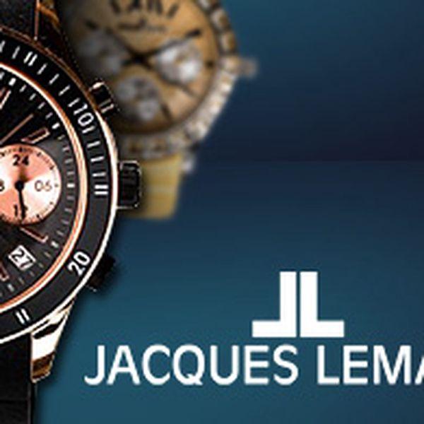 Luxusní hodinky Jacques Lemans vč. poštovného – pro ženy i muže, výběr ze 13 modelů