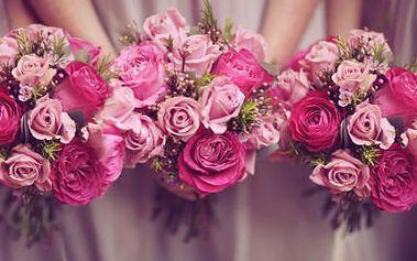 Svatební květiny od profesionála! Nechte si uvázat krásné svatební květiny od svatební floristky!