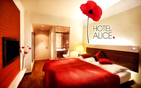 6denní wellness pobyt v hotelu ALICE Balneo Poppy+14 spa procedur, welcome drink a polopenze.