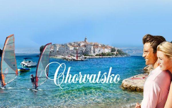Cenová bomba! Do chorvatska v hlavní sezoně se slevou 50%! Ubytování pro 1 osobu na 7 dní v apartmánech nebo pokojích za fantastických 2640 kč!