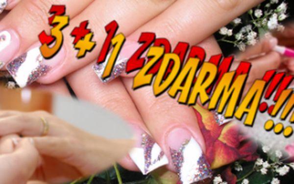 175 KČ ZA PROFESIONÁLNÍ MODELÁŽ NEHTŮ - Nechte si nehtíky vylepšit acrygelem, gelem a nazdobit lakem, kamínky, vzorky, květinkami nebo třpytkami! Okouzlete své okolí nádhernými nehtíky!!! AKCE 3+1!!! Koupíte 3 kupóny a 4 dostanete navíc ZDRAMA!!!