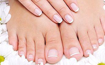 249 Kč za mokrou manikúru a pedikúru. Dokonalé nehty a sametově hebká pokožka - okouzlete dokonalýma rukama i nožkama v letních sandálech!