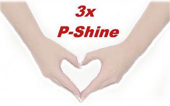 3x P-Shine manikúra pro krásnější ruce!