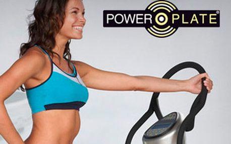 50 Kč za cvičení na Powerplate (1 x 30min) s instruktáží.