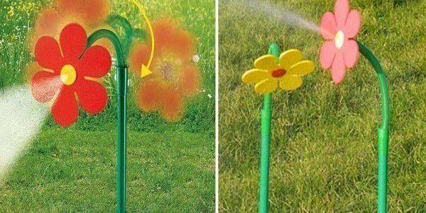 Rozprašovací - tančící květina jako zavlažovač
