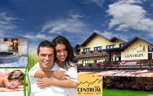 Luxusní dovolená v Harrachově PRO DVA na 6 DNÍ ve Wellness hotelu Centrum s POLOPENZÍ, WELLNESS a MASÁŽEMI za skvělých 7399 Kč! Ušetříte 50%!