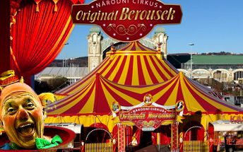 Cirkus - vstup pro 1 dítě a 1 dosp. os. za 200 Kč!