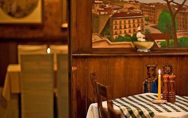 Polední menu v nádherné restauraci Pulcinella!