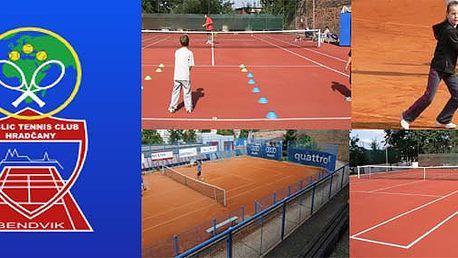 Pronájem tenisového kurtu na 3 hodiny na Praze 1 - tenisový klub SK Hradčany