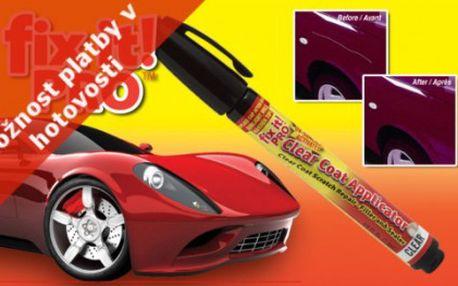 Škrábance na laku auta jsou již minulostí s profesionálním opravným perem fix it pro se slevou 50 %!!!
