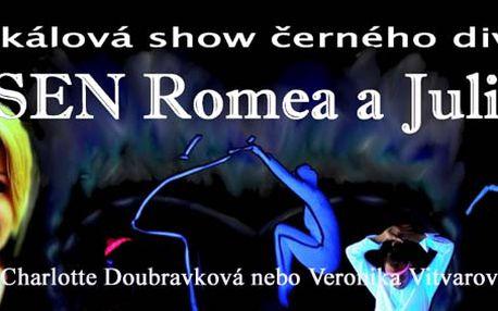 Magické představení černého divadla Sen Romea a Julie