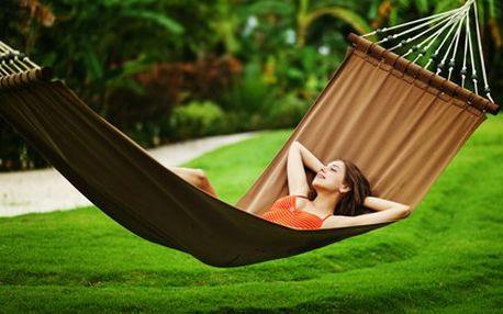 Velká houpací síť až pro dvě osoby! Udělejte si na své zahradě pohodlí díky skvělé houpací síti!