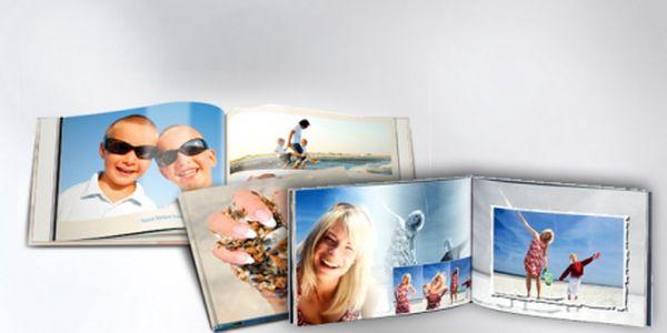 FOTOKNIHA s tvrdou vazbou formátu A4, 80 stran již za 519 Kč! Darujte svým blízkým jedinečný dárek ve formě fotoknihy naplněné Vašimi společnými fotografiemi.