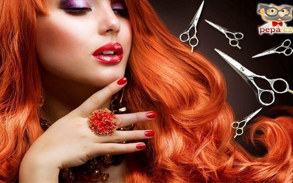 Kompletní kadeřnický balíček s barvením nebo melírem špičkovou značkou vlasové kosmetiky L´Oréal.