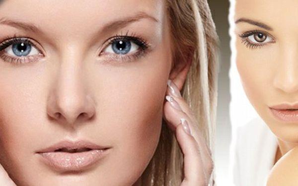 Kosmetické ošetření pro okamžité rozjasnění pleti, odstranění otoku, zpevnění kontur v obličeji. Mějte krásnou pleť s 83% slevou!!!