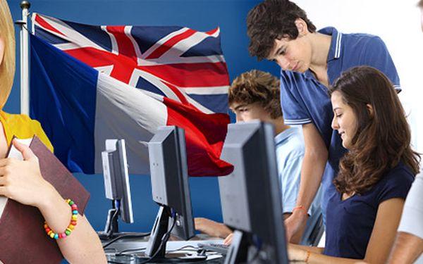 Intenzivní kurzy angličtiny a francouzštiny na dovolenou