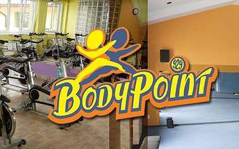 2 měsíce neomezeného vstupu do fitness centra BodyPoint. Procvičte Vaše tělo !