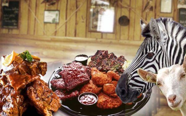 Přijďte na pořádný dlabanec do stylové restaurace - Staroveská Myslivna! 700 g žeber na medu s chilli omáčkou, 500 g kuřecích křidýlek, 5 krajíců chleba, hořčice, křen a okurky! To vše za neuvěřitelnou cenu 149 Kč!