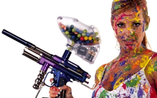 Noční paintball s komplet špičkovou výbavou včetně 500 kuliček a pronájmem hřiště s osvětlením.