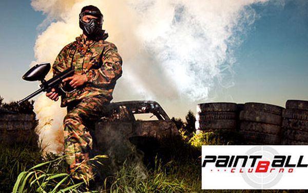 Celodenní paintball na vojenské základně – kompletní výbava pro 1 osobu, 100 kuliček, hřiště o rozloze 18 000 m2