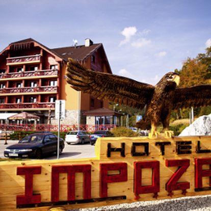 4 dni s polpenziou/s raňajkami na Malej Fatre od 86 €! Krásny hotel Impozant****!