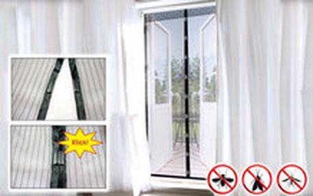 299 Kč místo 625 Kč - Chraňte se před komáry! Praktická ochranná síť proti komárům a jinému hmyzu, zavírání na magnety, se slevou 52 %. Osobní odběr!
