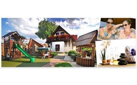 Užijte si wellness pobyt pro 2-6 osob v Chalupě na Špici v srdci Českomoravské vrchoviny (vířivka, sauna, masáž, piv...