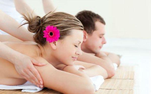 Balíček masáží pro dvě osoby! Prožijte ve dvou příjemné chvíle uvolnění při společné masáži!